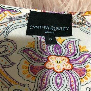 Cynthia Rowley summer blouse